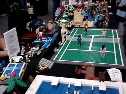Brick-a-laide 2015 - Swimming Pool, Tennis Court & Around the World