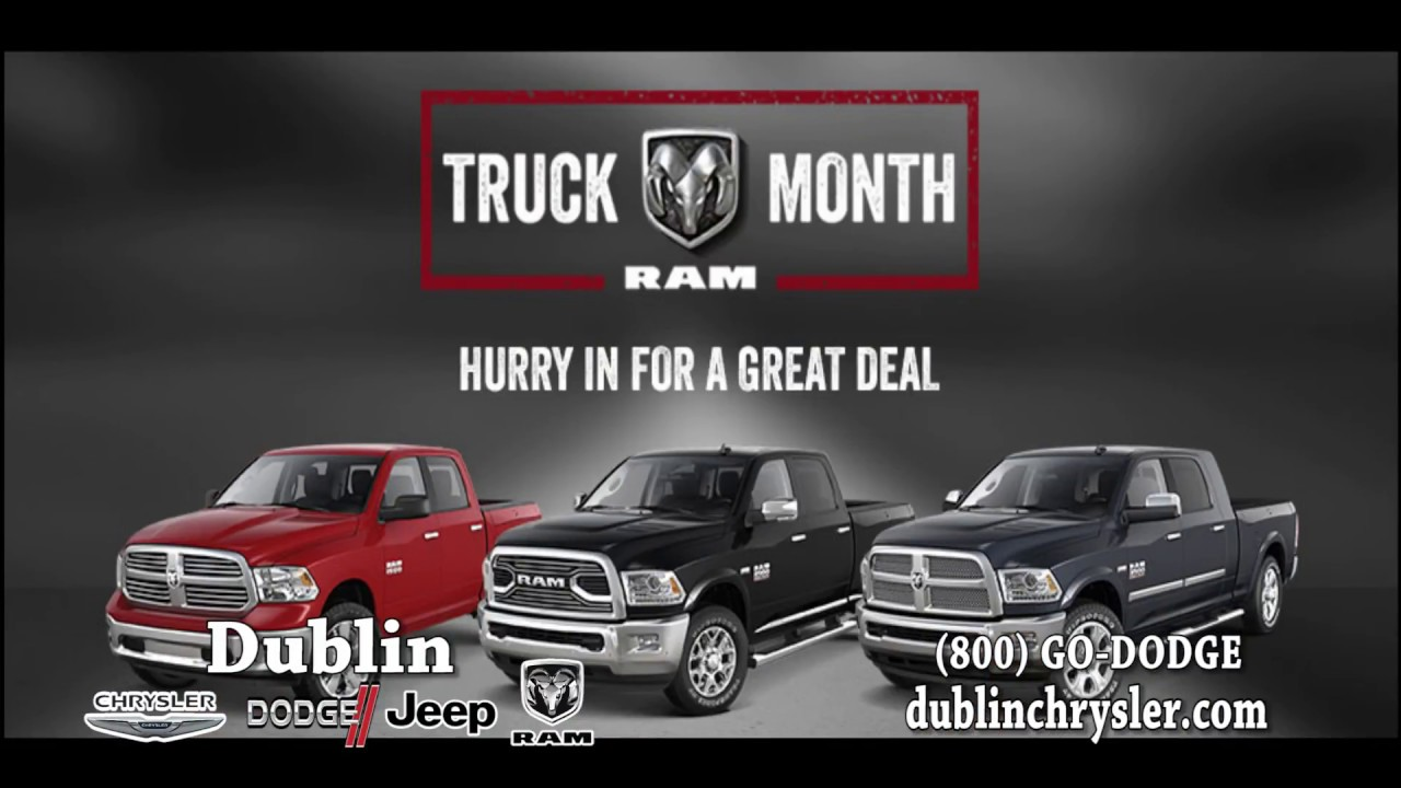 Dublin Chrysler Dodge Jeep Ram   Ram Truck Month