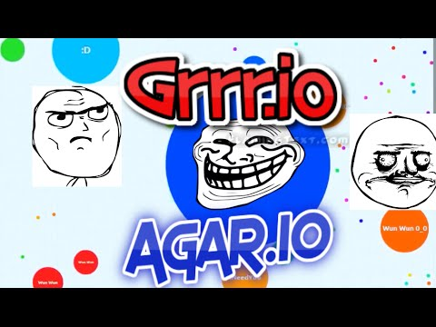 AMAZING AGARIO GAMEPLAY - Agar.io Jumbo Style - Grrr.io