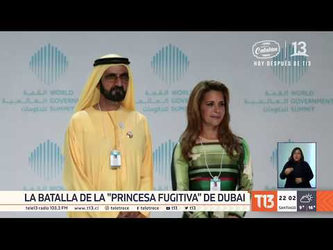 """Princesa fugitiva"" de Dubai reaparece para dar una dura batalla legal"
