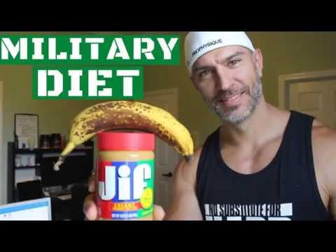 pierde 4 kilos en 3 dias con la dieta militar