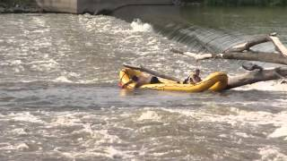 kwqc steel dam rescue