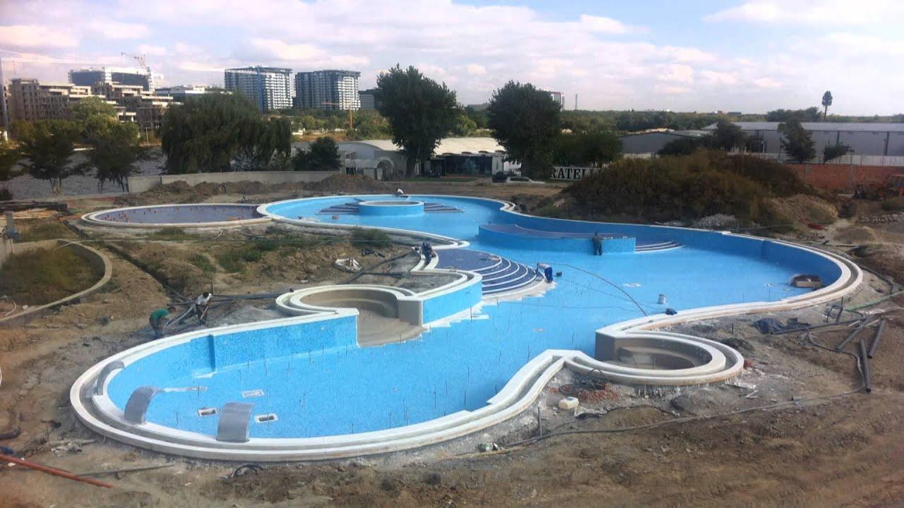 constructia unei piscine de lux youtube