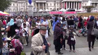 Eid 2014 festival at Trafalgar Square London