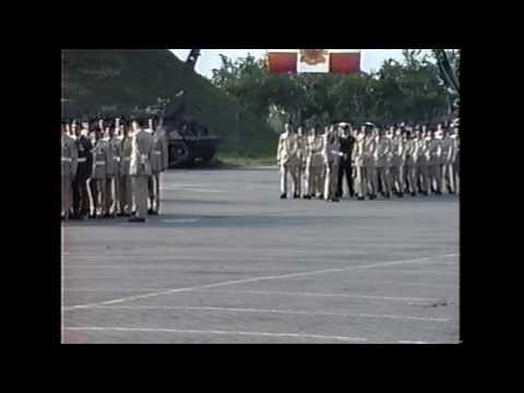 4 Service Battalion Parade 1991
