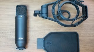 Rode NT1 KIT Condenser Microphone Review / Test