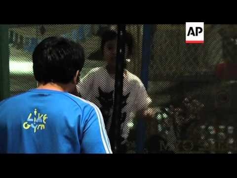 Jakarta's first junior gym fights childhood obesity