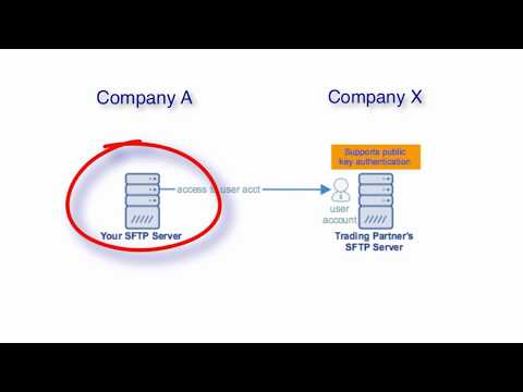 Setting Up SFTP Public Key Authentication Between Trading Partners