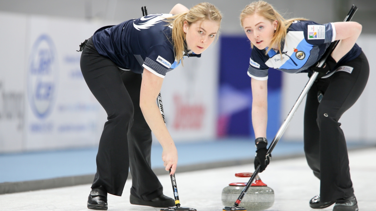 HIGHLIGHTS: Scotland v USA (Women) - VoIP Defender World Junior Curling  Championships 2017