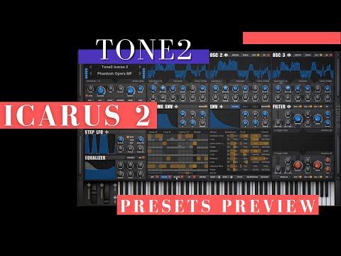 Tone2 Icarus 2 | Keys presets preview