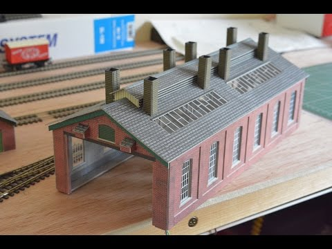 Metcalfe Card Kit PO213 Engine Shed