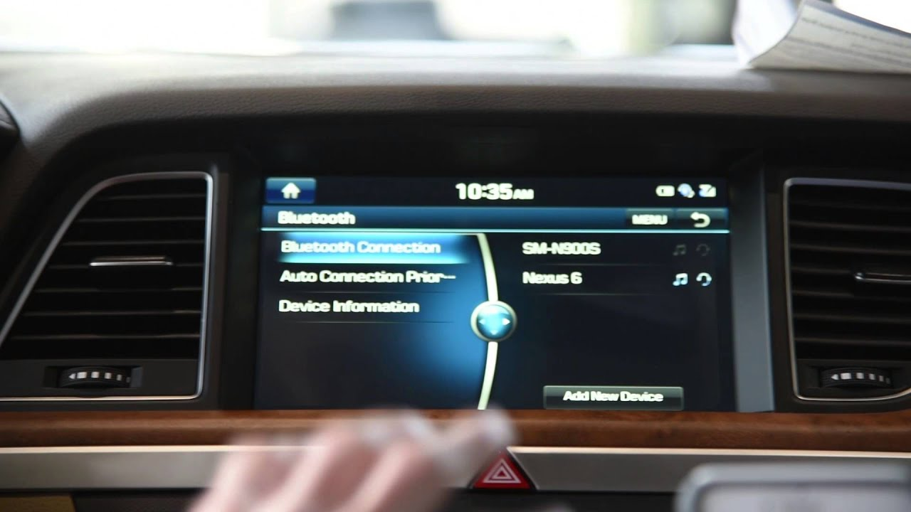 Bluetooth Use For Hands-Free Calls is Easy With Your Hyundai