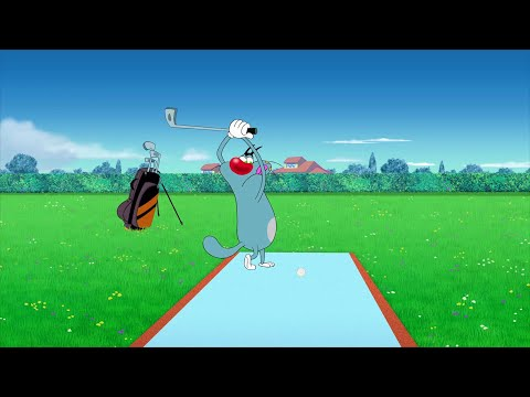 Oggy and the Cockroaches ⛳🤠 OGGY, GOLF PLAYER ⛳🤠 Full Episode in HD