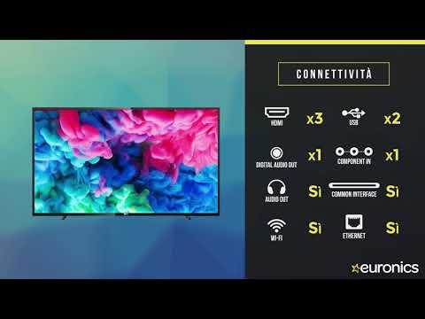 Philips | Smart TV LED 4K UHD HDR | 55PUS6503