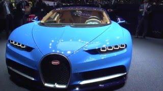 Bugatti Chiron world premiere: Geneva motor show