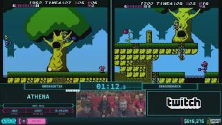 Athena by Dragondarch and Brossentia in 23:05 AGDQ 2018