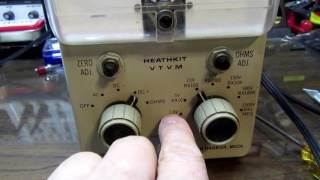 Hacking & Overhauling a VTVM (Heathkit IM-18 and similar)