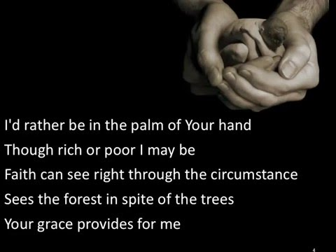 In The Palm of Your Hand ~ Alison Kraus ~ lyric video