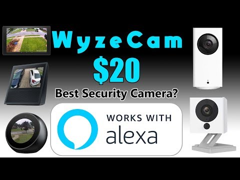 WyzeCam Review with ALEXA SUPPORT! View Your Cams on Amazon
