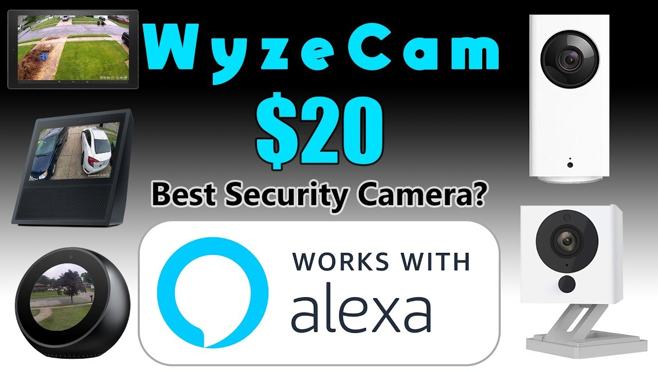 WyzeCam Review with ALEXA SUPPORT! View Your Cams on Amazon Devices
