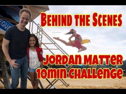 BTS with JORDAN MATTER on a 10 minute PHOTO CHALLENGE - My Experience BONDI BEACH SYDNEY