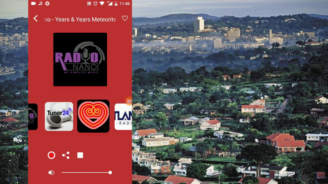 Ugandan Radio Live (online mobile application for android