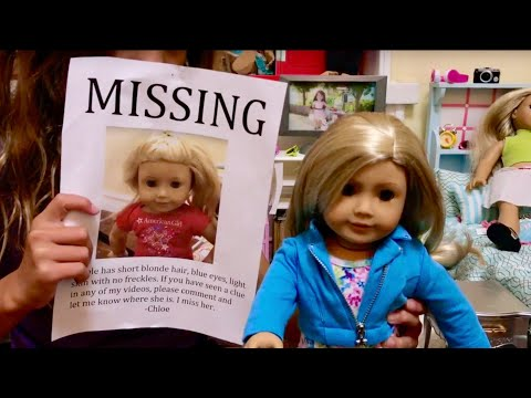 Missing American Girl Doll Replaced