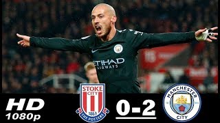 Stoke City vs Manchester City 0-2  Premier League 12/03/2018 HD