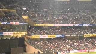 Mexican Wave India Vs South Africa 5th ODI. Wankhede Stadium.