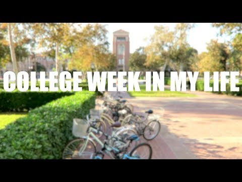 College Week In My Life:  Prepping for Finals at USC