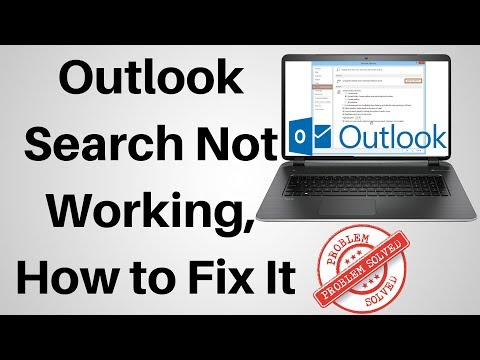 How to Fix Outlook Search Not Working - YouTube