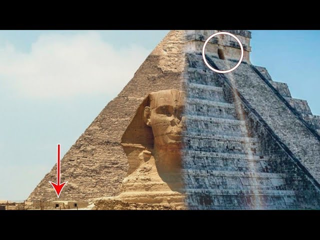 Extranas Coincidencias De Las Piramides De Egipto Y Mexico Top 5 Youtube