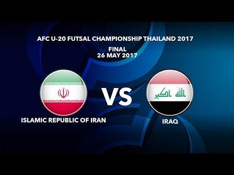 #AFCU20FC THAILAND 2017 - FINAL - ISLAMIC REPUBLIC OF IRAN vs IRAQ - Video News