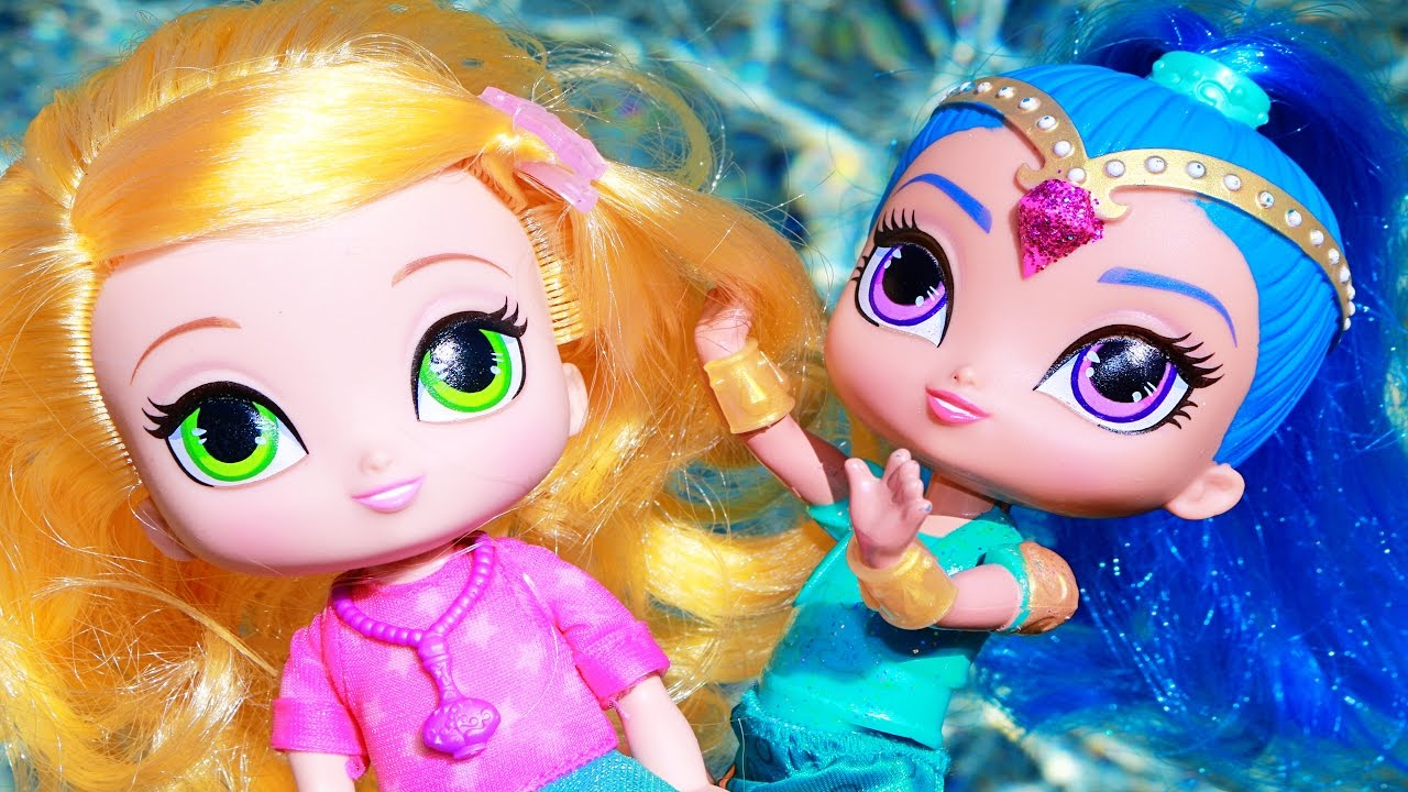 Amazon Com Fisher Price Nickelodeon Shimmer Shine Leah Toys