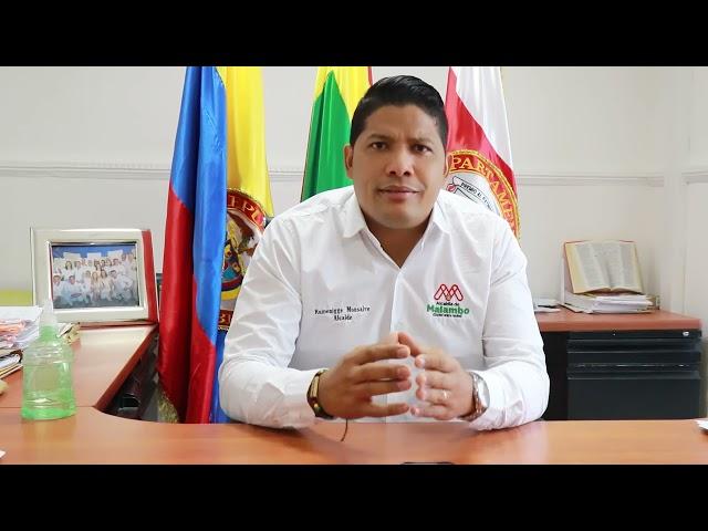 Alcalde Rumenigge Monsalve respalda marcha pacífica