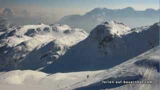 Winter Impressionen Waidring Skiparadies Steinplatte