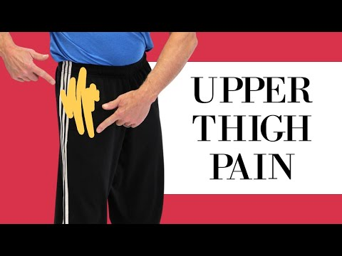 Upper Thigh/ Leg Pain; From Pinched Femoral Nerve or Meralgie Paresthetica? Self-Test & Fix.