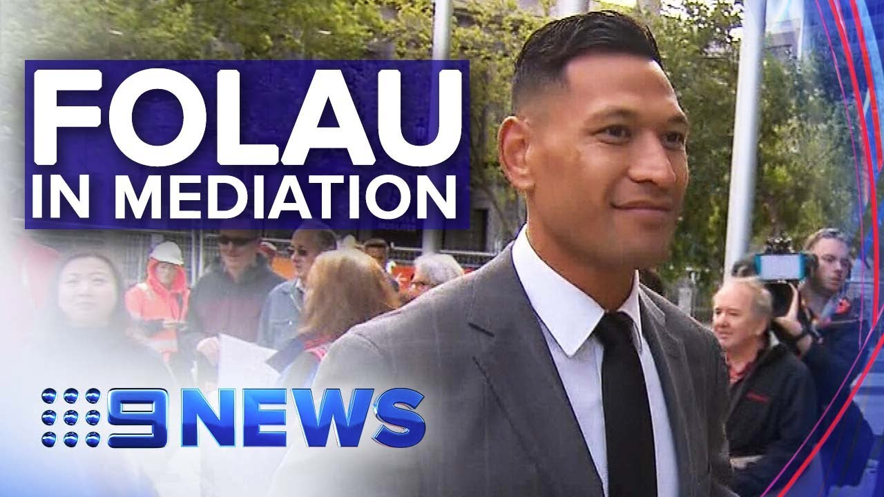 Israel Folau Attends Rugby Australia Mediation Over