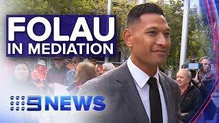 Israel Folau Attends Rugby Australia Mediation Over Sacking | Nine News Australia