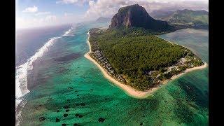 Dji phantom 4 flight test - part 1 - mauritius island - 4k drone footage