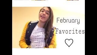 February Favorites! Thumbnail