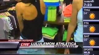 WBFF -- FashionEASTa Fashion Show - lululemon athletica