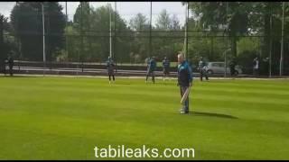 Pakistan Cricket Team - Tough Fielding and Batting Training Camp at England
