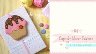 Marcador de Páginas Cupcake por Fabi Medico
