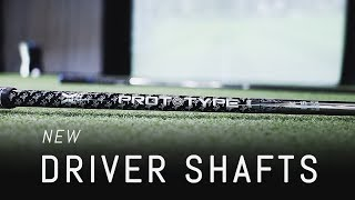 2020 Prototype Shaft + New Driver Shafts from Aldila & Graphite Design