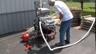383 Stroker Blower Motor Startup