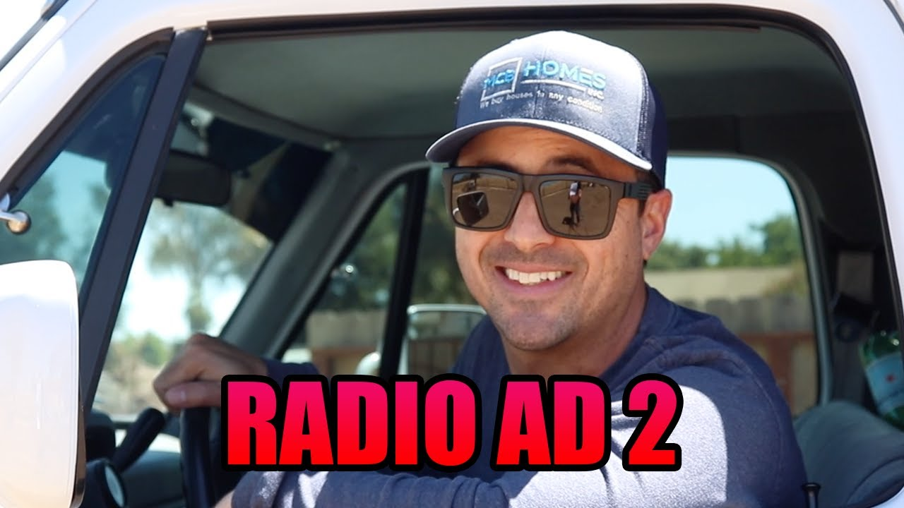 Sell Your Home Fast to MCB Homes Radio Ad in Lodi, California