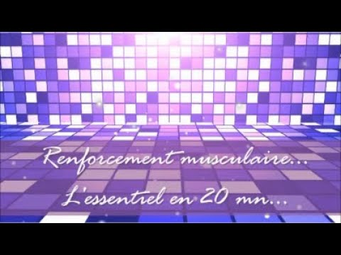 Renforcement musculaire - 26'02