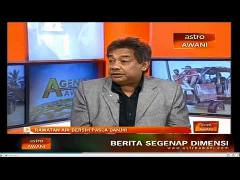 ELLIAS ON ASTRO AGENDA - CLEAN WATER SUPPLY DURING DISASTER