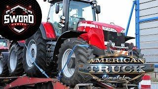 Çiftliğe Traktör Taşıyoruz  I  American Truck Simu